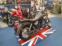 Motorini Bomber 125 cruiser learner legal motorbike. Finance options available big 125 motorcycle