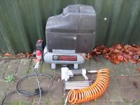 Air compressor and Nail Gun