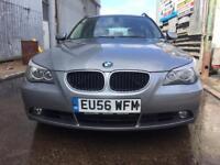 BMW 5 SERIES 2006, 2.0 520d SE DIESEL, FULL DEALER SERVICE HISTORY, LONG MOT, ONE PREVIOUS OWNER