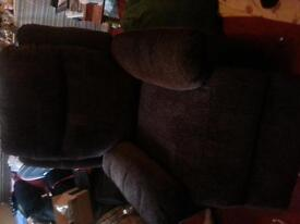 Never been used brown Riser Recliner. collection only and before the 26th November. £70. ono