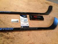 Brand New and Repaired Hockey Sticks for sale