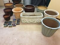 Good selection of quality garden pots
