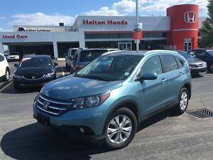 2014 Honda CR-V Touring | 5SP | ALLOYS | LEATHER | SUNROOF