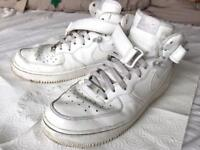 Nike Air Force 1 trainers - size 10