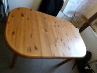 House Move forces sale - solid pine extendable dining table
