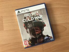 Call of Duty Cold War PS5 game