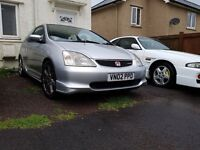 TYPE R, 6 months MOT, EPS, ABS, Very Quick car, recent oil change and rear brake pads, stereo