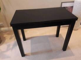 Ikea black folding table