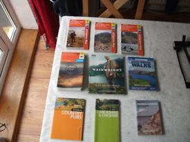 THE ENGLISH LAKES EXPLORER MAPS books/ map case