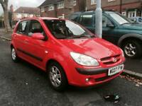 *MUST GO* Hyundai Getz 1.3 2007 Red 80k Miles Good Condition A/C 4 5 Doors Alloys