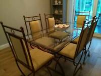 Dining Table, Chairs, Media and Nest of Tables