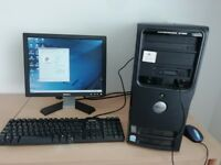 Dell Dimension 3100 complete with original keyboard and monitor