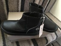 New Lacoste Chelsey boots