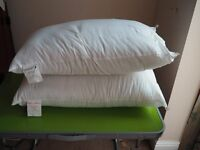TWO HOTEL ESSENTIAL PREMIER INN PILLOWS SOFT AND MEDIUM FIRM SUPPORT