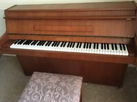 Benson Piano for sale bought from Coach House Pianos Fforestfach Swansea