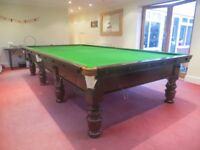 Excellent Full Size Snooker Table with Free Delivery and Installation