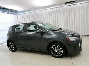 2017 Chevrolet Sonic INCREDIBLE DEAL!! RS LT TURBO 5DR HATCH w/