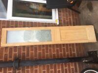 New folding interior doors, used external door from £60 each