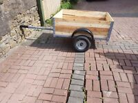 4x3 trailer fully refurbished top to bottom