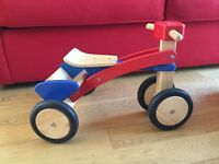 Wooden Trike. John Lewis, good condition