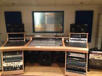 Recording Studio North London - £775 PCM