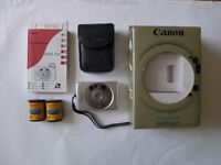 CANON APS Vintage Film Camera Boxed with spare films