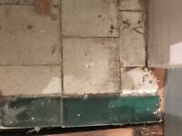 WANTED: Green & white tiles for old fireplace hearth