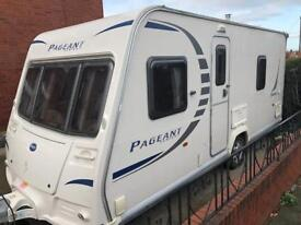4 berth fixed bed 2009 model Bailey 7 series Pageant full bradcot awning&extras 1 former owner