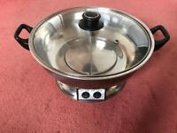 Hardly used two sided electric cooker