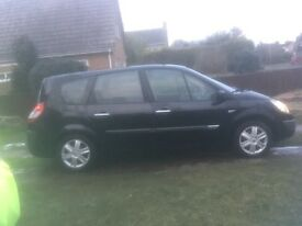 Renault grand scenic 1.9 dci 7 seater 2005 Open to offers as need gone