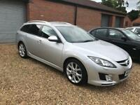 2010 MAZDA 6 2.2D SPORT ESTATE 185 ONLY 89,000 MILES FROM NEW