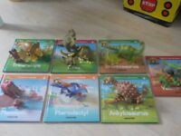 First Seven Books in the Partwork Series along with Dinosaurs and Caveman. Never used. £10