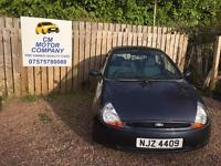 2008 FORD KA ZETEC CLIMATE 1.3 ONLY 50,000 MILES!! 1 YEAR MOT SUPPLIE