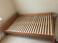 Double bed, 140x200, good condition