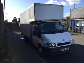2006/06 FORD TRANSIT 15 FT LUTON WITH TAILLIFT 100K