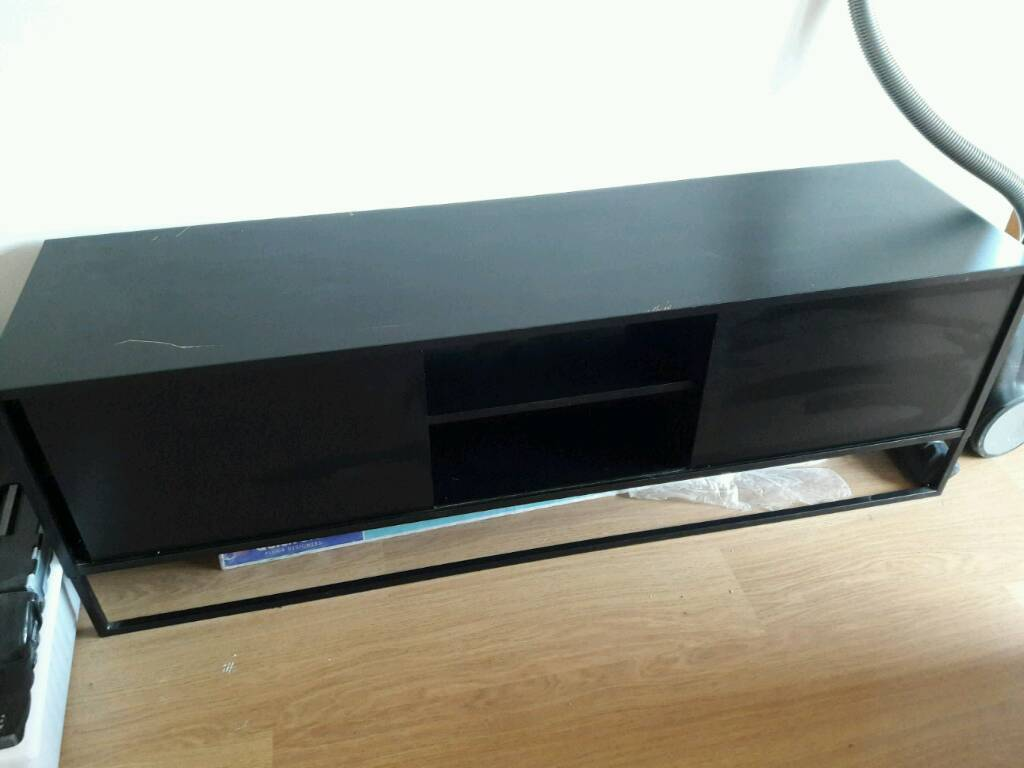 Lampe Ikea Recharge Telephone ~ Tv unit Hagge black ikea  in Gilmerton, Edinburgh  Gumtree