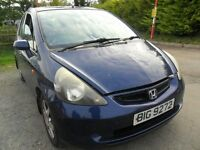 honda jazz 1.4 parts from 2 cars a 2003/4 5 door dark blue and light blue