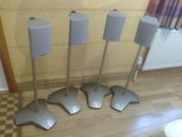 Toshiba speakers and stands (4)