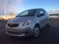 Toyota Yaris 1.0 petrol long mot £1750