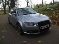 AUDI A4 2.0 TDi S Line 5dr ESTATE ++ 12 MONTHS MOT ++ WARRANTY AVAILABLE (silver) 2005