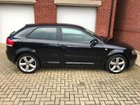 Audi A3 for sale due to company car. Great condition and drives perfectly.