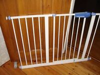 Stair gate (LINDAM) with extension