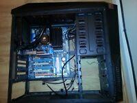 GIGABYTE GA-EX58-EXTREME, LGA 1366, i7 920, 12GB , Corsair H60, Zalman Z11