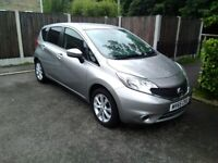 NISSAN NOTE 1.2 DIGS Acenta auto only 28000 miles