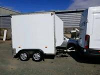 Box trailer-tow a van type