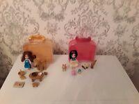 DISNEY Animators Doll Sets ***Belle and Snow White***