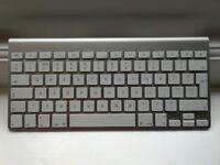 2 x Apple Wireless Keyboard - A1314 UK QWERTY - Bluetooth