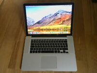 Apple MacBook Pro 15 A1286 Core i7 2.66GHz 8GB RAM
