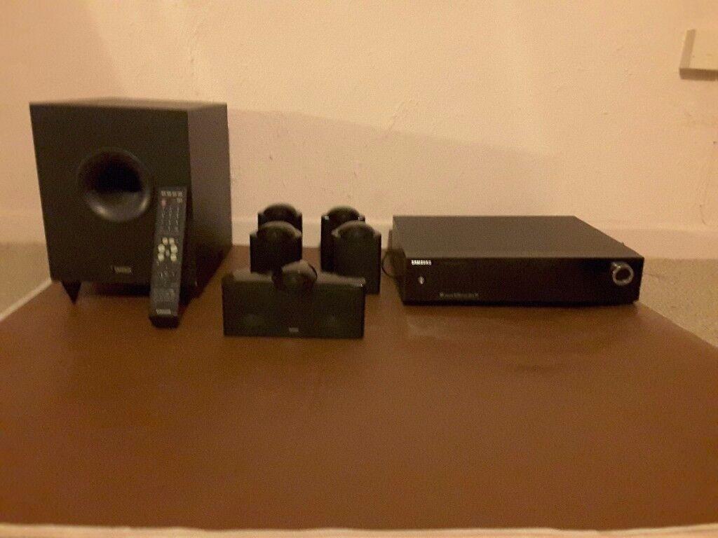 Samsung AVR710 surround sound system