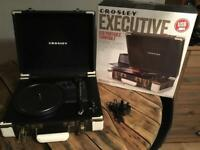 Crosley Executive Turntable/Record Player Ideal Xmas Gift